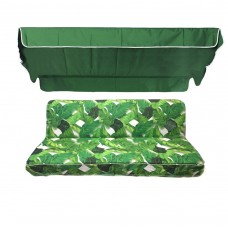 Комплект для качелей eGarden Palma зеленый тент