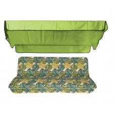 Комплект для качелей eGarden Fauna 170 см салатовый тент