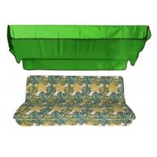 Комплект для качелей eGarden Fauna 170 см тент трава (ярко-зеленый)