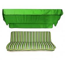Комплект для качелей eGarden Verrano тент трава (ярко-зеленый)