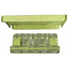 Комплект для качелей Virginia керамика зелёная
