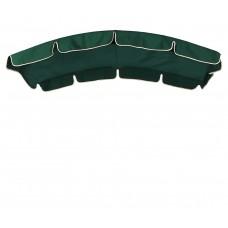 Тент (дах) LUX для гойдалки eGarden 150x210 темно-зелений