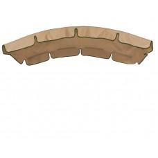 Тент для гойдалки з округлим дахом eGarden кавовий