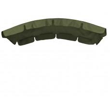 Тент (дах) для гойдалки з округлим дахом eGarden 120x210 хакі