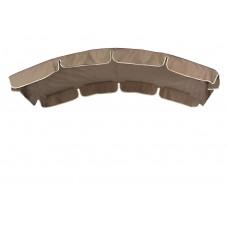 Тент (дах) LUX для гойдалки eGarden 150x210 кавовий