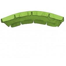 Тент (дах) для гойдалки з округлим дахом eGarden 120x210 салатовий