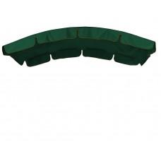 Тент для гойдалки з округлим дахом eGarden темно-зелений