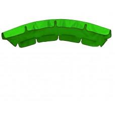 Тент (дах) для гойдалки з округлим дахом eGarden 120x210 трава (яскраво-зелений)