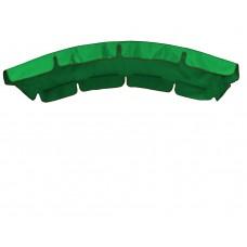 Тент (дах) для гойдалки з округлим дахом eGarden 120x210 зелений