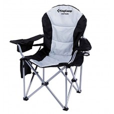 Крісло KingCamp Deluxe Hard Arms Chair KC3888 black/mid grey